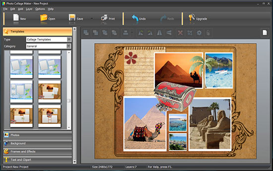Photo Collage Maker: collage templates